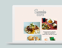 Sunnies Cafe Website