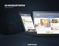 Os Mosqueteiros [Website]