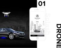Mercedes Benz Drone