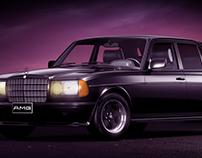 Mercedes-Benz W123 280E AMG | Full CGI