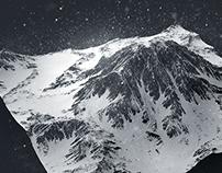 3D Mountain Study