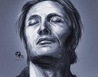 Mads Mikkelsen portrait