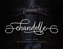 Chandelle Script