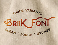 Briik - Hipster Fonts
