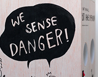 we sense danger