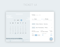 Train Ticket UI | FREE PSD