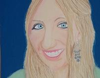 Emphasized Self Portrait