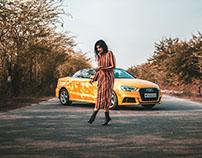 Audi A3 & Kritika Khurana