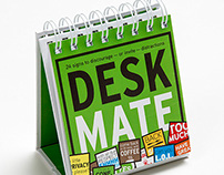 DeskMate - a desktop book of signs