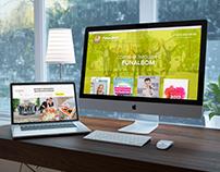 новый дизайн сайта для Funalbom
