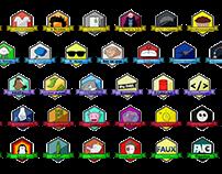Badges vidéastes français