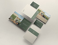 Lillehammer Taarn | Real Estate | brochure | identity