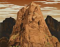"FITS Socks National Parks - ""Zion"""