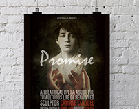 Print Design - Promise, The Opera Poster
