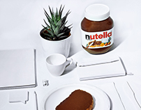 NUTELLA - monochrome serie | white