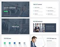 Grace CompanyGoogle Slides Template