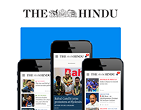The Hindu :: Responsive Website Design