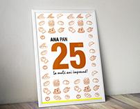 Ana Pan 25 years anniversary