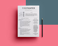 Free Firefighter Resume Template