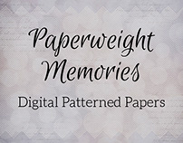 Paperweight Memories - Digital Patterned Paper