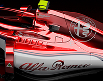 Alfa Romeo Sauber C33 Concept Livery CAD