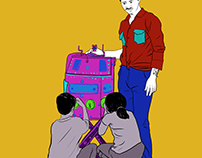 Self employment illustrations