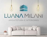 Identidade visual | Luana Milani - Arquiteta
