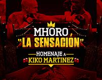 Mhoro   La Sensación - Homenaje a Kiko Martinez