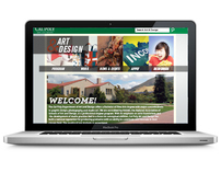 Art & Design Website Redesign