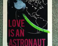 Love Is An Astronaut - Screenprint