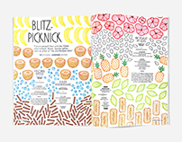 Nido Magazine, Blitz-Picknick Patterns