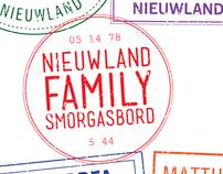 Nieuwland Family Smorgasbord