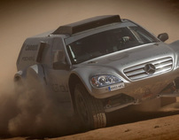 Mercedes ML Prototipe Raids