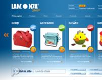 Lamonza e-shop concept