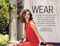 Dare to Wear - Editorial for Woman & Home South Africa