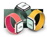 Free PSD Apple Watch Series 5 Mockup