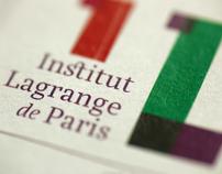 Identité Institut Lagrange de Paris