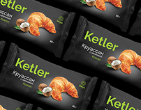 Ketler. Packaging for croissant