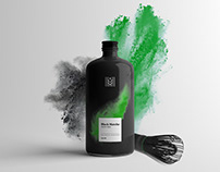 Black Matcha / Packaging & Identity