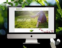 Wessanen.com Redesign