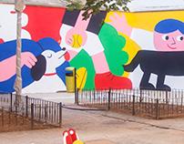 Mural Painting, ES