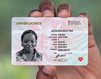 Kenyan Driver Licence redesign