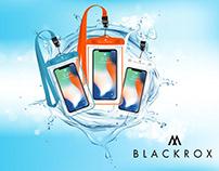 Waterproof Mobile Case Mockup Design