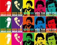 Vote for Imran Khan.