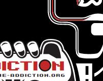 Addiction Poster-Screenprint