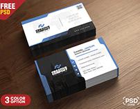 Agency Business Card PSD Template