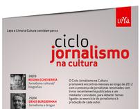 Ciclo Jornalismo na Cultura - Editora Leya