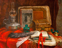 Still lifes in red