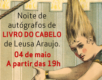 Convite Vitual - Livro do Cabelo