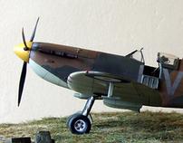 Supermarine Spitfire Mk1, QV-K, 19Sqn